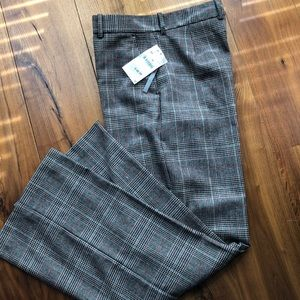 Zara Wide Leg Checkered Pants